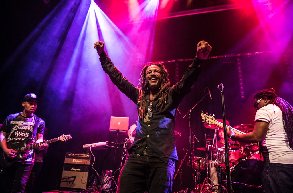 Bob Marley tribute band Rootsriders terug in poppodium NIEUWE NOR