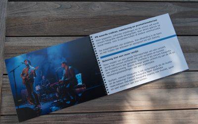 SAAL Digital spiraal fotoalbum als portfolioboek