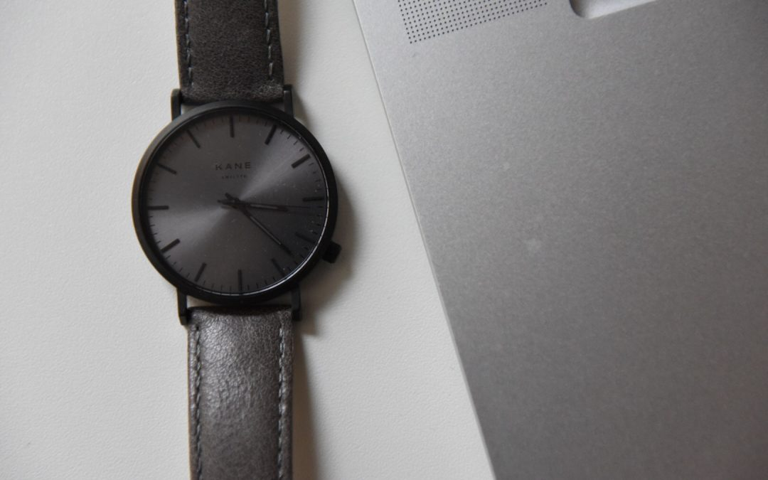 Review Kane Watches Black Out Urban Grey horloge