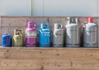 Gasflesvulstation commerciële fotografie